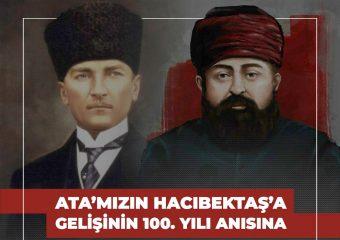 Galeri-Ata'mızın Hacı Bektaş'a Gelişinin 100. Yılı Anısına